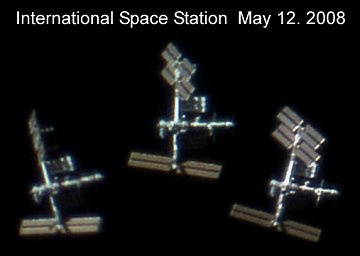Кадры МКС от Dirk Ewers взятые из видеоролика